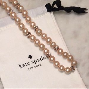 Kate Spade Lady Marmalade Pearl Necklace